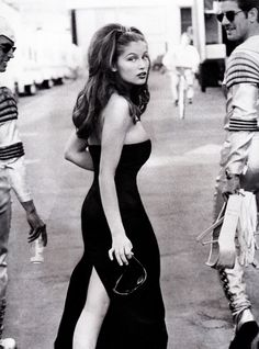 Vogue Editorial November 1995 - Laetitia Casta by Herb Ritts