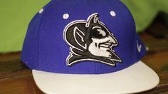 Duke Blue Devils Snapback Hat Baseball Cap Embroidered Blue White Adjustable #Zypher #Baseball