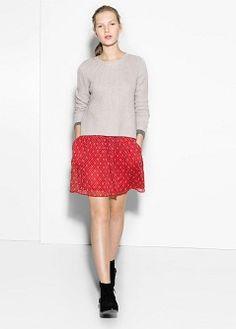 Falda estampado étnico - Faldas de Mujer  986db5243d0d