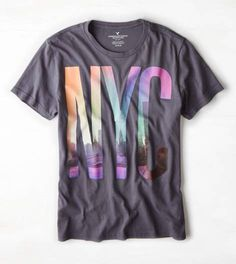 New year, new cloths to buy: #wishlist => Grey Branch AEO NYC Graphic T-Shirt