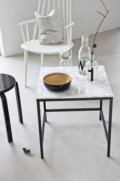 Ikea 'Vittsjö' hack - Marble top