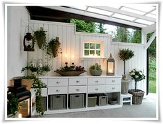 beautiful and sweet: green area and veranda, house ., beautiful and sweet: green area and veranda, house There are several issues that can certainly last but not least finish ones back garden, just like an antique whitened picket fence as . Outdoor Rooms, Outdoor Gardens, Outdoor Living, Gazebos, Living Spaces, Living Room, Sweet Home, New Homes, Home And Garden