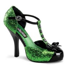 These would be the greatest St. Patrick's Day shoes!