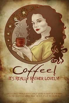 Coffee is very lovely....