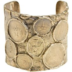 Alkemie Coin Cuff ❤ liked on Polyvore