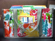 Another Keep it Caddy brightening up my office at work, these make for great file folder holders