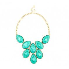 Sole Society Accessories - SHORT STONE NECKLACE