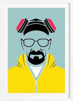 Cook Poster en Affiche premium encadrée par Naxart | JUNIQE
