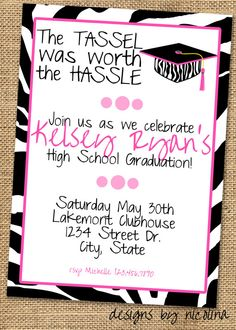15 best graduation party invitation wording ideas graduation party