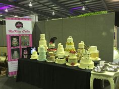 MelRose Cakes stand at Hunter Wedding Specialist Bridal Expo