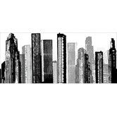 Found it at AllModern - Cityscape Giant Wall Decal