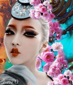 Modern day Geisha- Made by Irene O. With @Bazaart