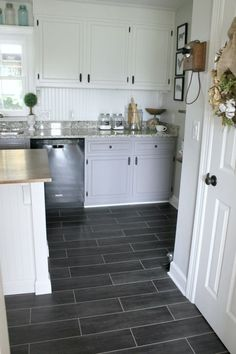 Luxury Vinal Floors For The Kitchen