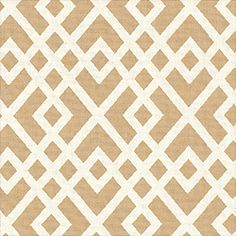 Gabriel –Woven indoor/outdoor fabric in Putty from the Courtyard Collection by @Thibaut Wallpaper - use this for bench covering.