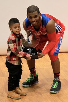 Check out father's day 2013 for Chris Paul.