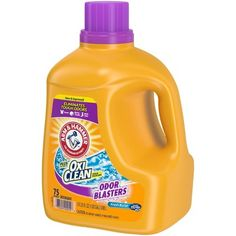 Arm & Hammer Plus OxiClean Stain Fighters Odor Blasters Fresh Burst Laundry Detergent fl oz Best Laundry Detergent, Septic System, Nutrition Information, Health Facts, Workout Gear, Household, Arm, Body Odor, Fresh