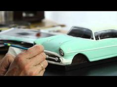 ▶ How to make a Realistic Chevy Car Cake - YouTube