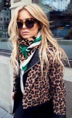 leopard jacket.