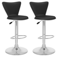 Corliving Faux Leather Swivel Bar Stools In Black (Set Of - The Corliving Faux Leather Upholstered Bar Stools show that a casual design never goes out of style. Swivel around in comfort with these low back bar stools. Upholstered Bar Stools, Swivel Bar Stools, Bar Chairs, Pink Chairs, Room Chairs, Dining Chairs, Stools For Kitchen Island, Counter Stools, Back Bar