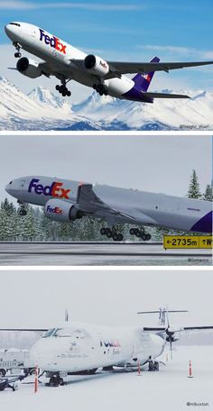 In our opinion, these planes bring new meaning to snow angels. Our incredible FedEx fleet of planes grew in 2016 by 30 and we can't wait to share more of the incredible pics from our FedEx followers!