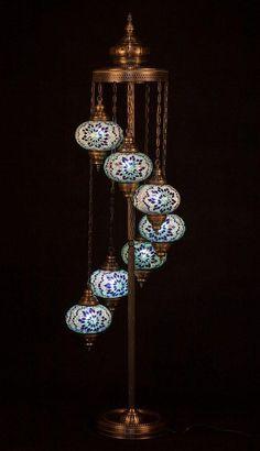 Chandelier Floor Lamp, Globe Chandelier, Modern Chandelier, Floor Lamps, Pendant Lamps, Moroccan Floor Lamp, Turkish Lamps, Glass Sink, Bedroom Lamps