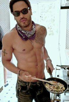 I've always thought is so hot for a man to be in the kitchen cooking.