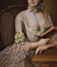 Portrait of Anna- Victoria- Maria von Rohan by Johann- Heinrich Tischbein
