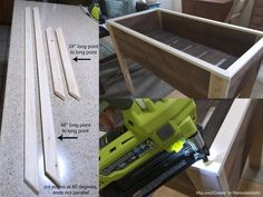 top trim for planter box, MyLove2Create for Remodelaholic