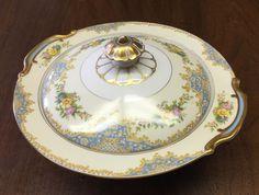 Noritake China 'Bantry' Round Covered Serving Dish or Bowl Floral Pattern   eBay