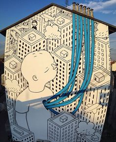 by Millo - final wall in series in Torino, #13, 12/14 (LP)