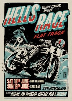 Dirt Bike Track Toy Flat Tracker 20 New Ideas Dirt Bike Track, New Dirt Bikes, Dirt Bike Room, Bike Poster, Motorcycle Posters, Motorcycle Art, Course Moto, Flat Track Racing, Stunt Bike