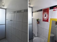 A renovação do meu banheiro
