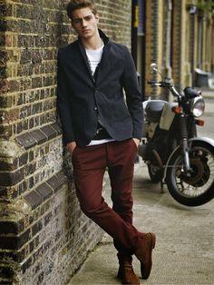 La Vie Colorée: men's style: the casual dude [guía de estilo para hombres: el chico casual]