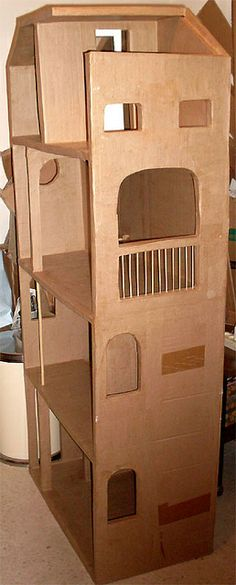 Barbie Cardboard Dollhouse