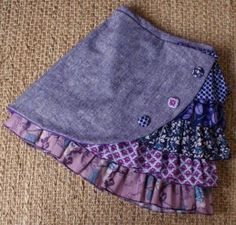 Stunning ruffle side skirt is creative inspiration for us. Get more photo about Little Girl Dresses creative inspiration photo Ruffle side Skirt Stunning Girl Doll Clothes, Doll Clothes Patterns, Sewing Clothes, Diy Clothes, Sewing Patterns, Clothing Patterns, Girls Skirt Patterns, Sewing For Kids, Baby Sewing