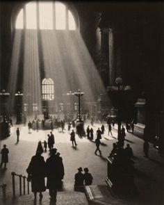 Pennsylvania Station, New York, 1929.