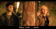 """Riley are you crying?"" ""Look...stairs"" Riley Poole - National Treasure BEST MOVIE QUOTE EVER"