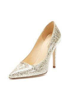 kate spade new york shoes Lollipop Glitter Pump