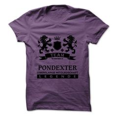 PONDEXTER - TEAM PONDEXTER LIFE TIME MEMBER LEGEND - #handmade gift #inexpensive gift. MORE ITEMS => https://www.sunfrog.com/Valentines/PONDEXTER--TEAM-PONDEXTER-LIFE-TIME-MEMBER-LEGEND.html?68278