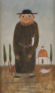 Hagelstam & Co Naive Art, Finland, Surrealism, Traditional, Eye, Landscape, Portrait, Artist, Painting