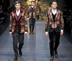 Dolce & Gabbana 2013-2014 Fall Winter Mens Runway Collection