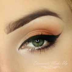 For all our stunning summer time brides this look is for you, as combines both simplicity and drama for the perfect combination. Products Used: Makeup Geek Eye Shadows in Crème Brulee, Gold Digger, Shimma Shimma Other Products Needed: Makeup Geek Gel Liner in Immortal