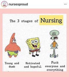 Sad, but kinda true. Nursing Jobs, Nursing Memes, Medical Humor, Nurse Humor, Work Memes, Work Humor, Nurse Quotes, Funny Quotes, Nurse Ratchet