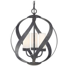 Quoizel Blacksmith Old Black Pendant Light Traditional Cage Pendant Light Globe Pendant Light, Black Pendant Light, Ceiling Light Fixtures, Ceiling Lights, Transitional Pendant Lighting, Quoizel Lighting, Light Bulb Bases, Glass Globe, Hanging Lights