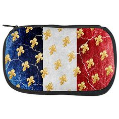 French Flag Grunge Distressed Fleur De Lis Travel Bag Multi Standard One Size #French #Flag #Grunge #Distressed #Fleur #Travel #Multi #Standard #Size
