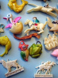 Vintage Cracker Jack Charms