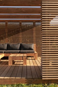 Capella Lounge - En moderne meditativ oase i din have House Extension Design, House Design, Outdoor Living Areas, Outdoor Spaces, Lounge, Terrace Design, Garden Design, Exterior Blinds, Timber Screens