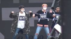 [HD Fancam] 161008 BTS, TWICE, GFRIEND - Sorry Sorry (1st Rehearsal) @ DMC