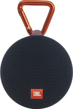 JBL - Clip 2 Portable Bluetooth Speaker - Black