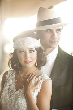 Stunning Gatsby Inspired Wedding Style At The Del Mar Racetrack Photograph by Siegel Thurston Photography http://www.storyboardwedding.com/the-great-gatsby-goes-to-the-races-in-this-del-mar-racetrack-styled-wedding-winner/#